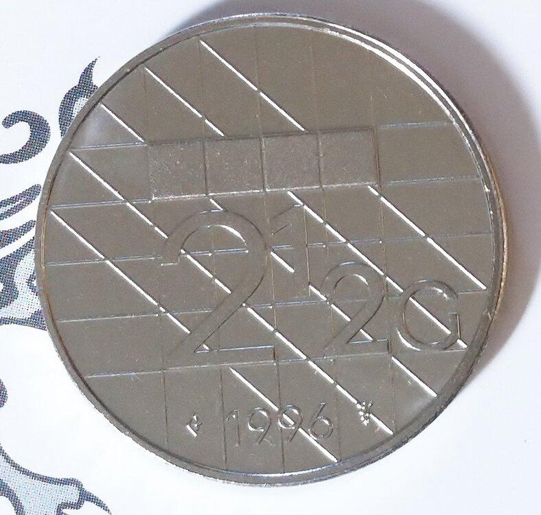 Beatrix 2½ Gulden 1996, FDC