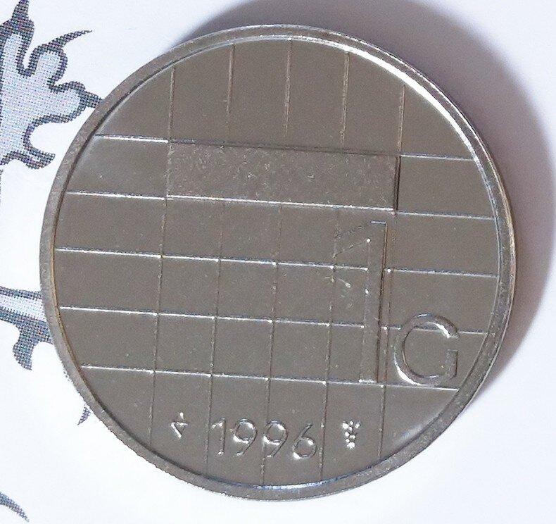 Beatrix 1 Gulden 1996, FDC