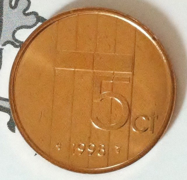Beatrix 5 Cent 1998, FDC