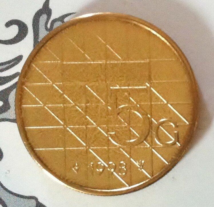Beatrix 5 Gulden 1998, FDC