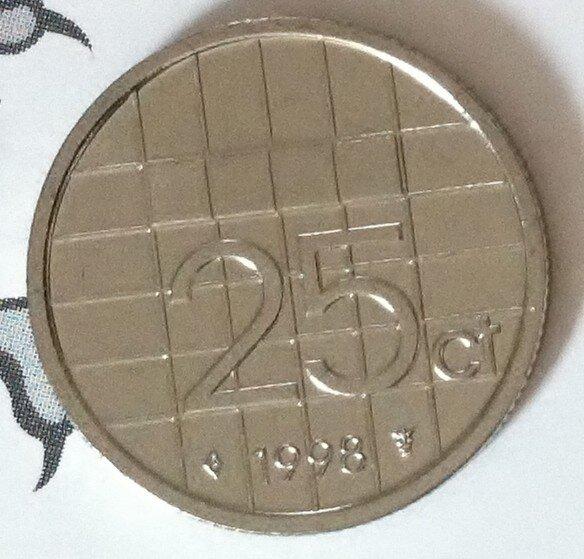 Beatrix 25 Cent 1998, FDC