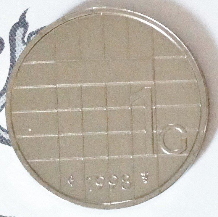 Beatrix 1 Gulden 1998, FDC