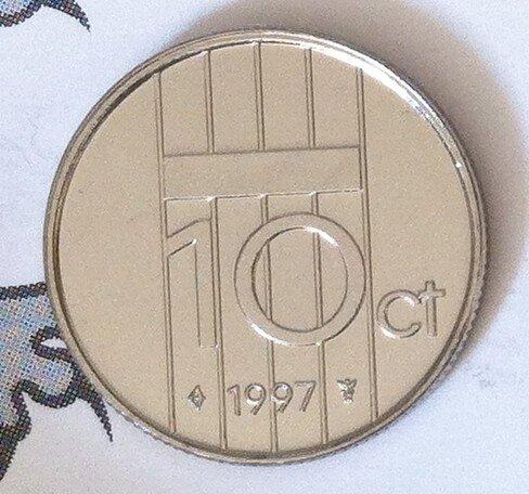 Beatrix 10 Cent 1997, FDC