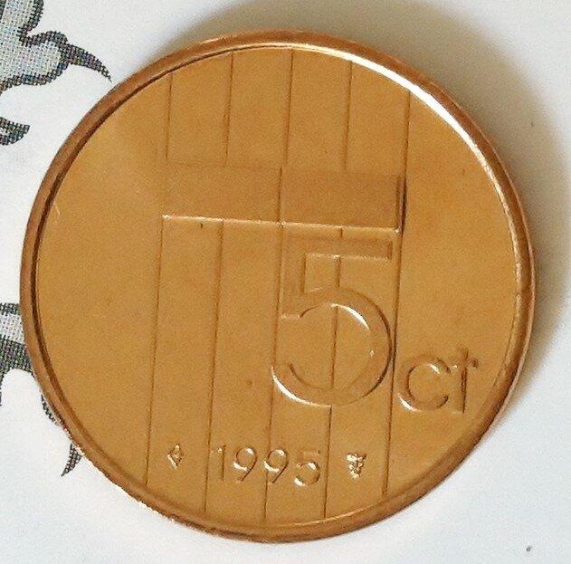 Beatrix 5 Cent 1995, FDC