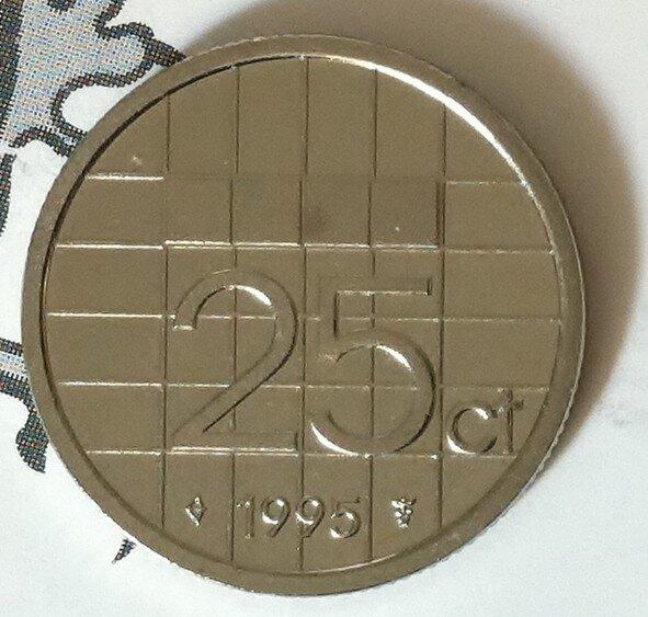 Beatrix 25 Cent 1995, FDC