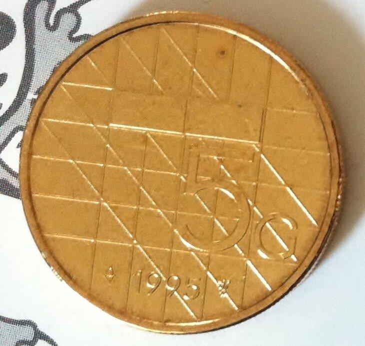 Beatrix 5 Gulden 1995, FDC