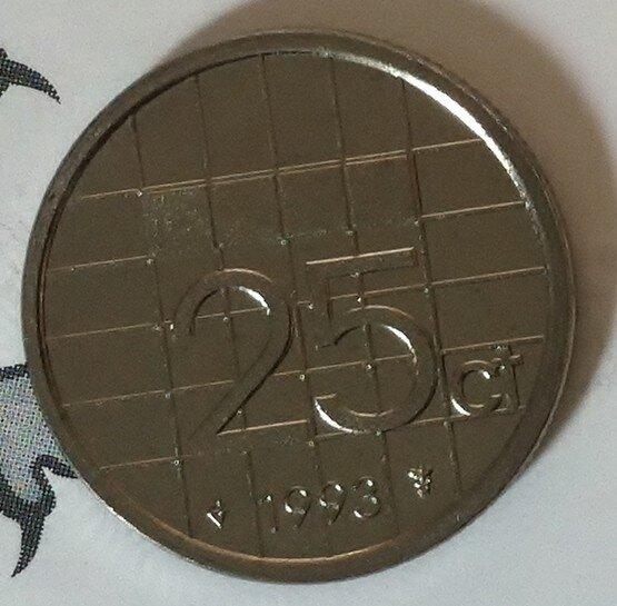 Beatrix 25 Cent 1993, FDC