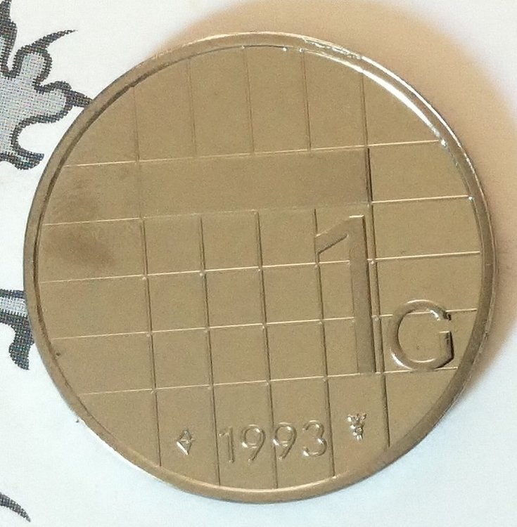 Beatrix 1 Gulden 1993, FDC