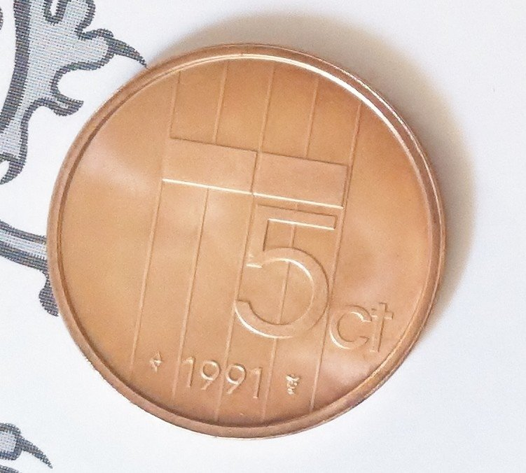 Beatrix 5 Cent 1991, FDC