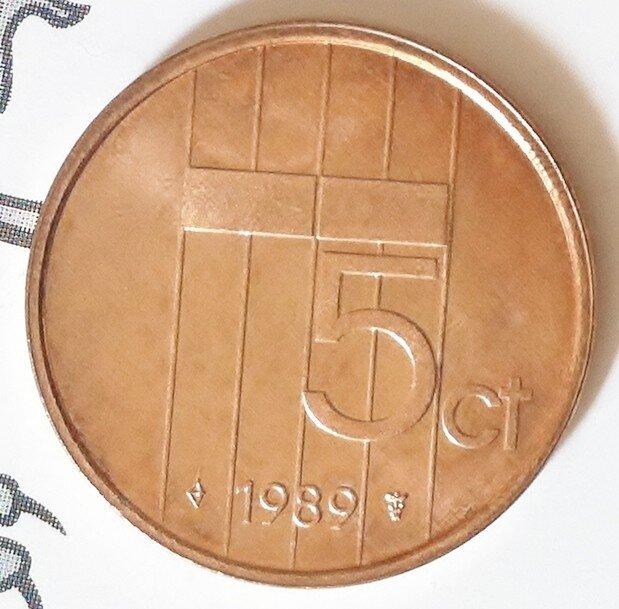 Beatrix 5 Cent 1989, FDC