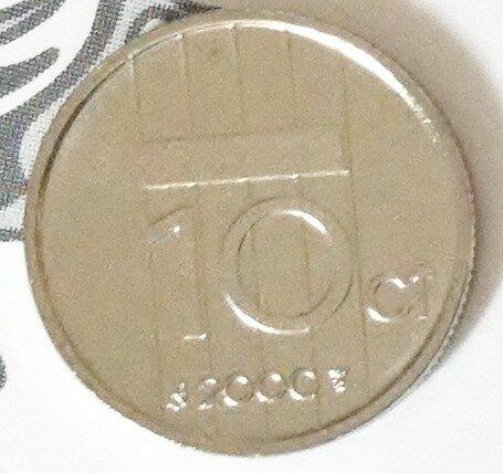 Beatrix 10 Cent 2000, FDC