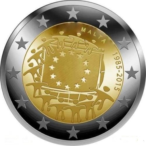 Malta 2 Euro 2015