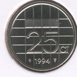 Beatrix 25 Cent 1994, FDC
