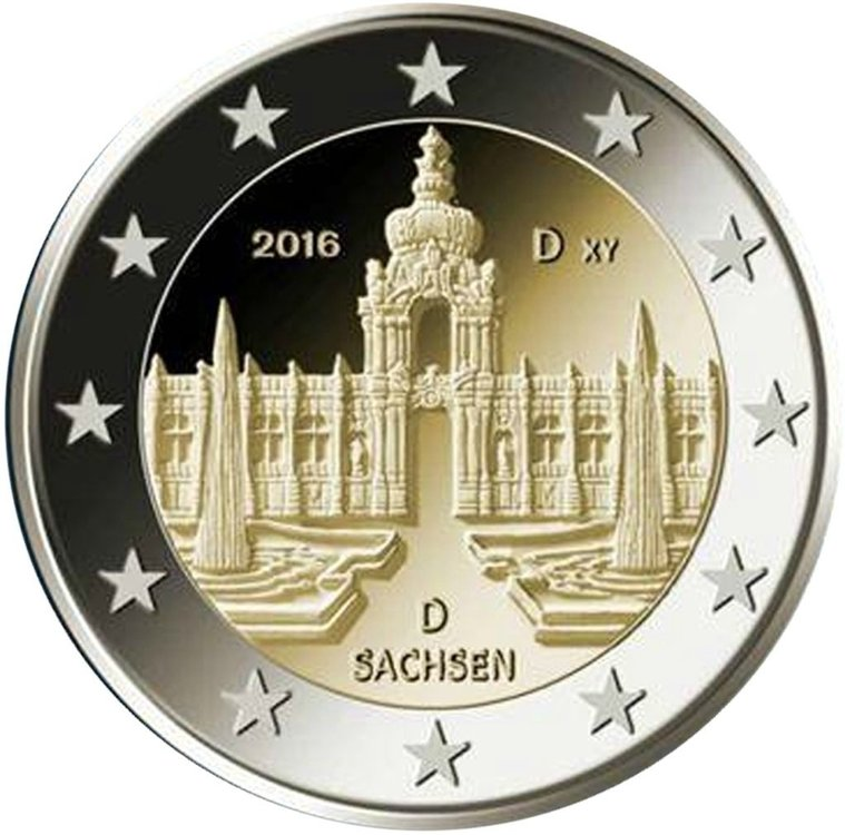 Duitsland 2 Euro 2016