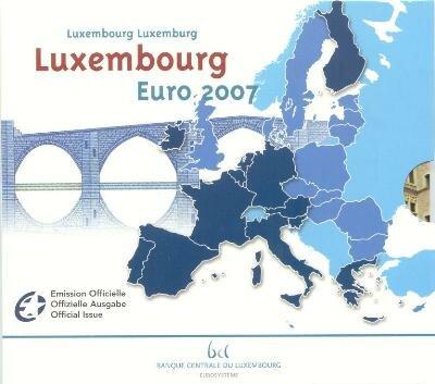 Luxemburg BU Set 2007