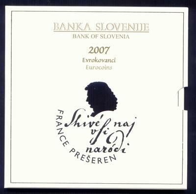 Slovenië BU set 2007