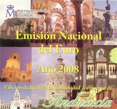 Spanje BU set 2008 Andalusië