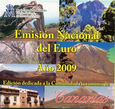 Spanje BU set 2009 Canarische Eilanden
