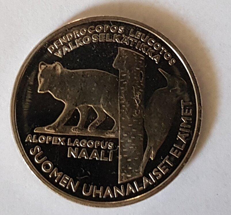 Finland 2005/1 penning uit de BU-set , BU