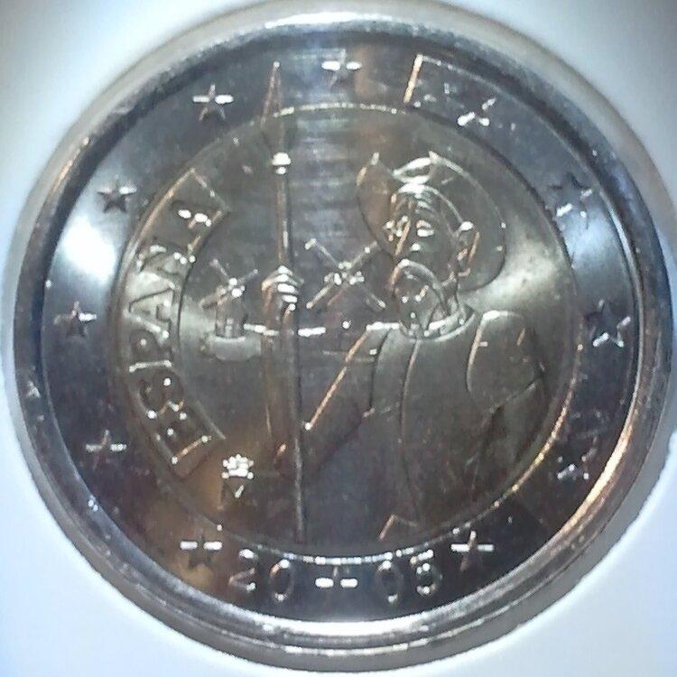 Spanje 2 euro 2005