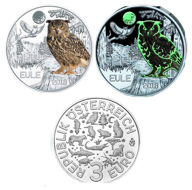 Oostenrijk 3 euro 2018