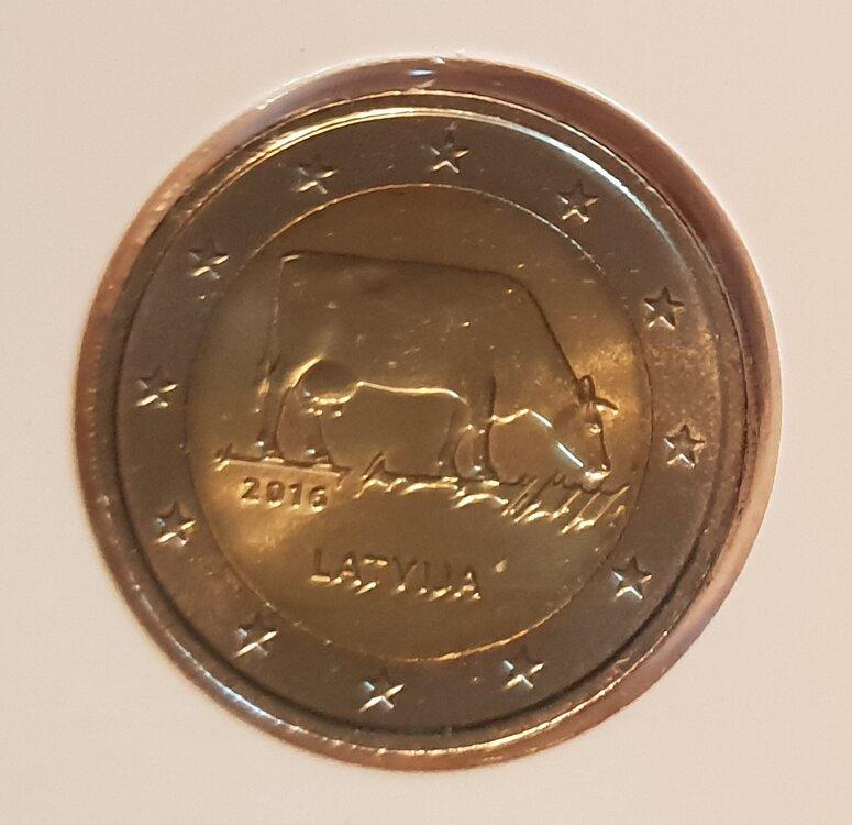 Letland 2 euro 2016