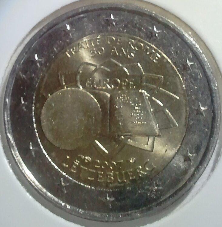 Luxemburg 2 Euro 2007