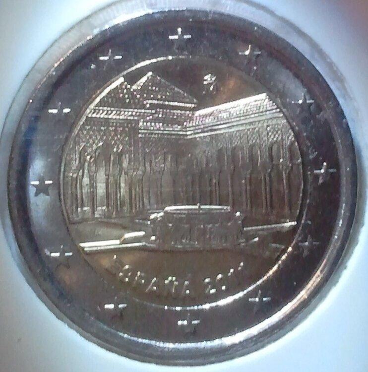 Spanje 2 euro 2011