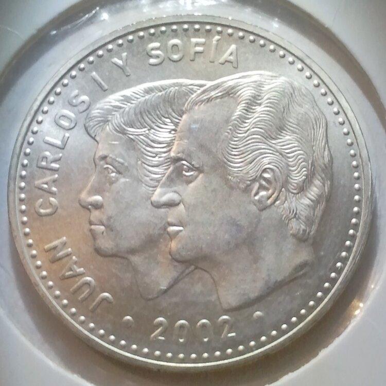 Spanje 12 euro 2002