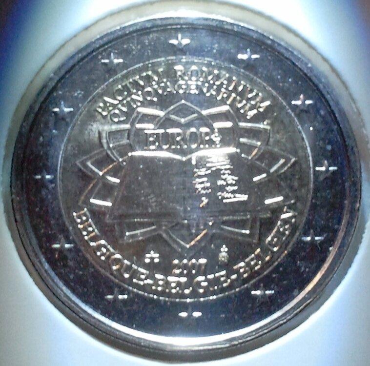 België 2 Euro 2007