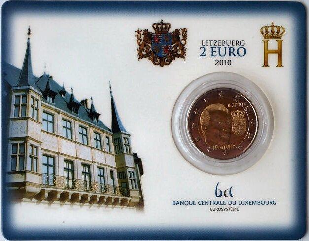 Luxemburg 2 Euro 2010