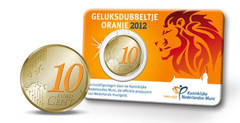 Nederland 10 Eurocent 2012 Coincard UNC