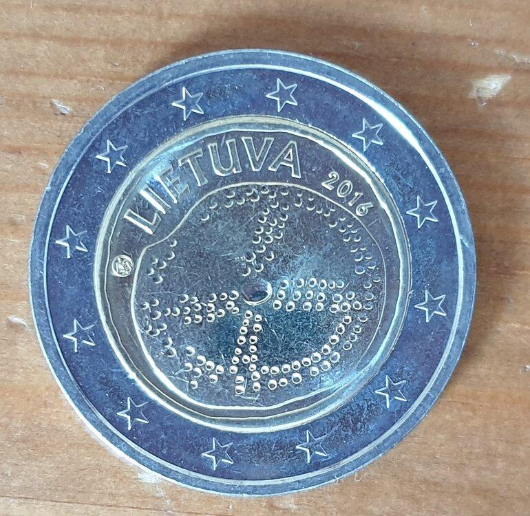 Litouwen 2 euro 2016