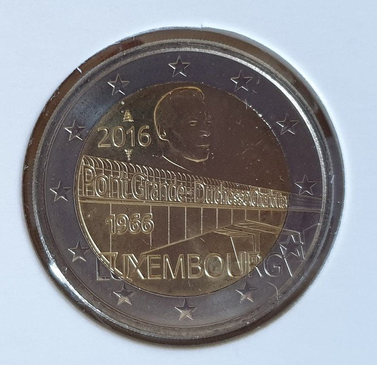 Luxemburg 2 Euro 2016