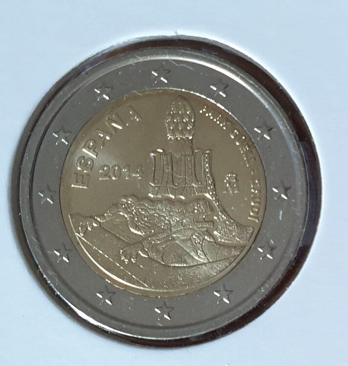 Spanje 2 euro 2014