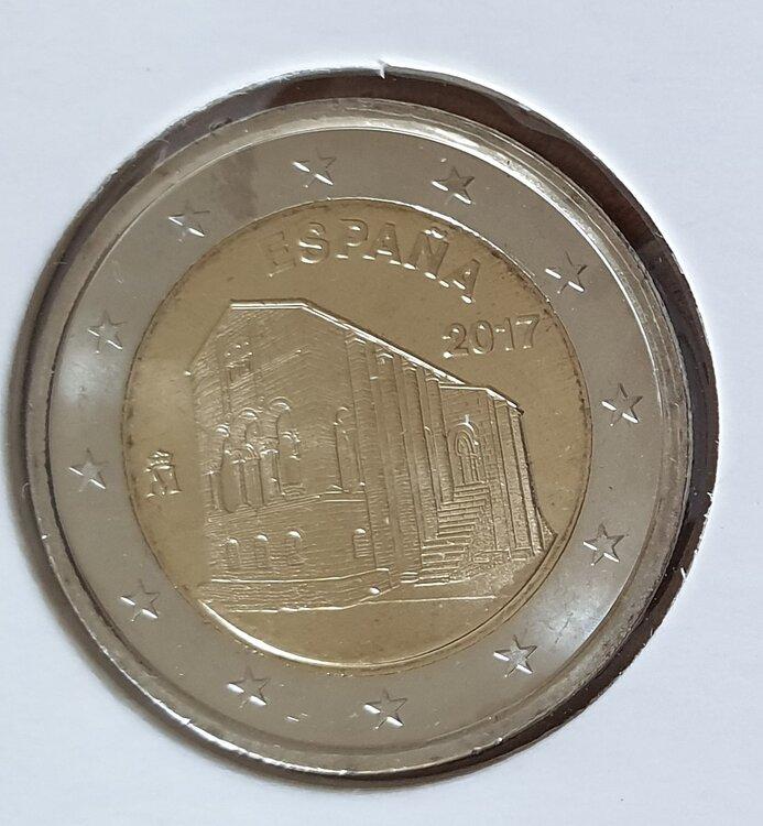 Spanje 2 euro 2017