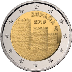 Spanje 2 euro 2019