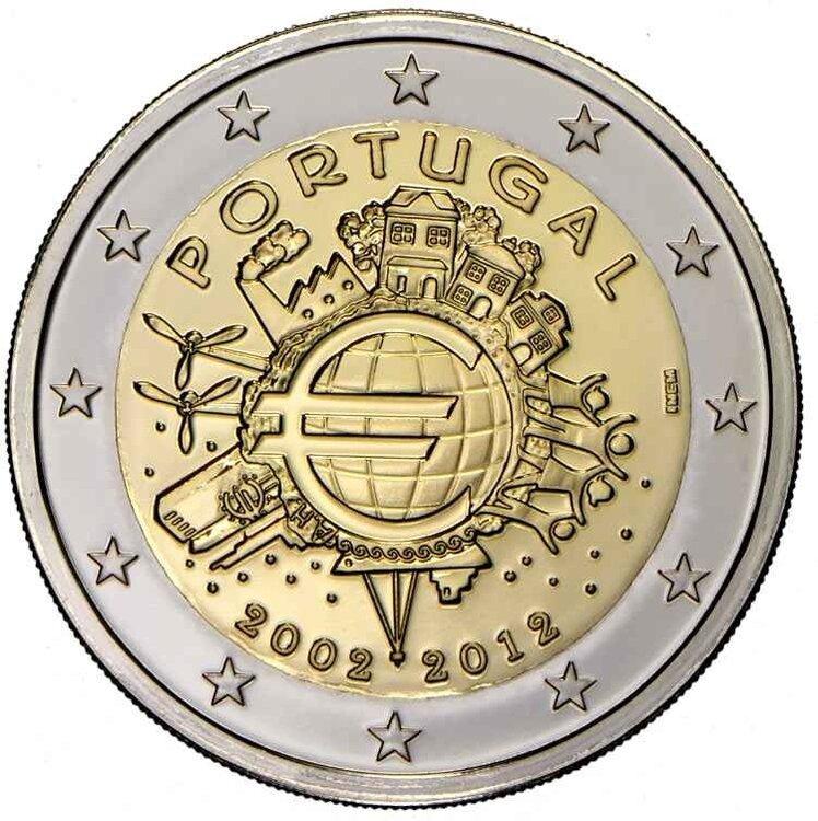 Portugal 2 euro 2012