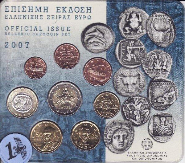 Griekenland BU Set 2007, Coins of the Aegean