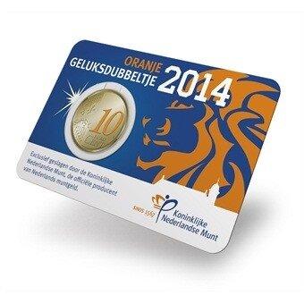 Coincard Willem Alexander 2014
