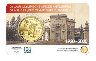 België 2,5 Euro 2020