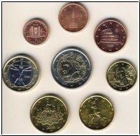 Italië UNC Set 2007 met 2 euro Verdrag van Rome