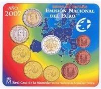 Spanje BU set 2007
