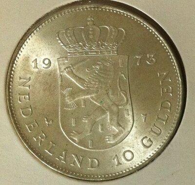 10 Gulden 1973, FDC