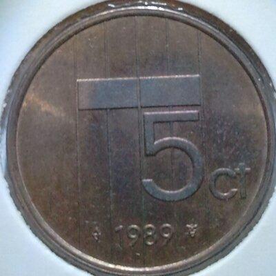5 Cent 1989, UNC