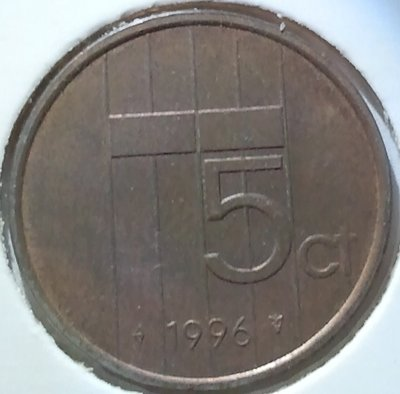5 Cent 1996, UNC