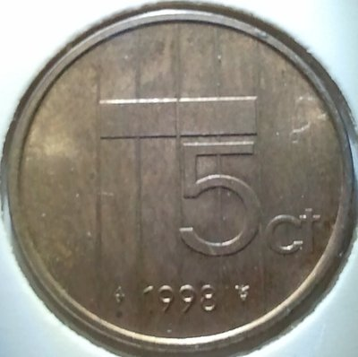 5 Cent 1998, UNC