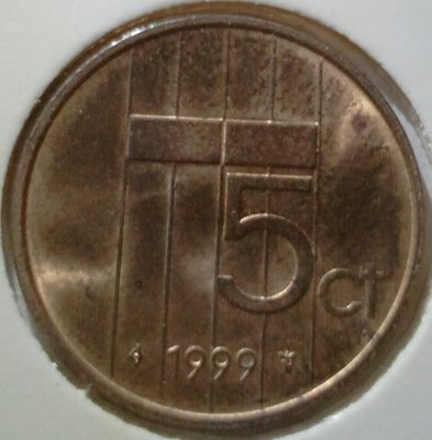 Beatrix 5 Cent 1999, FDC
