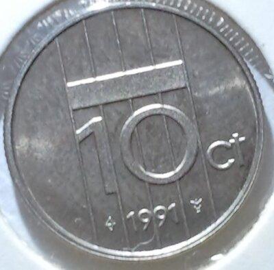 10 Cent 1991, UNC