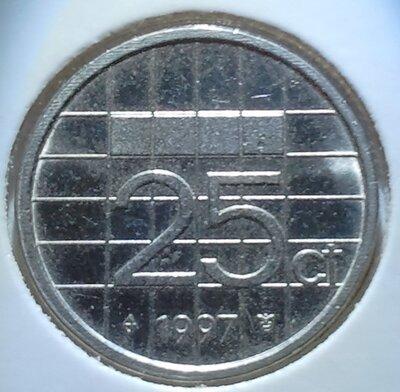25 Cent 1997, UNC